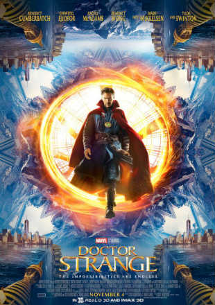 Doctor Strange 2016 BRRip 720p Dual Audio Hindi Dubbed Download In Hd