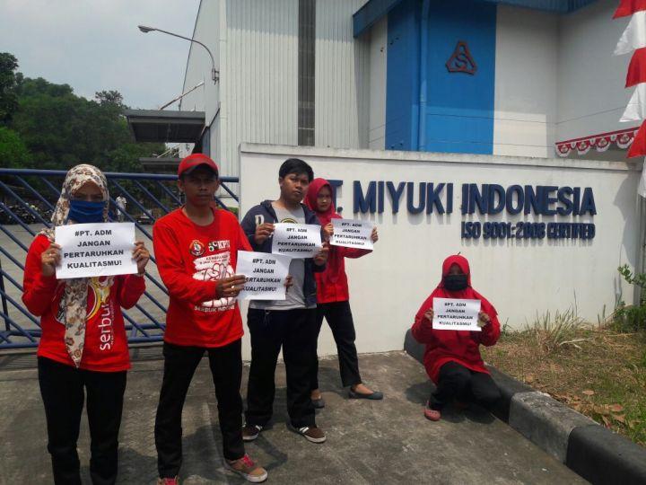 Lowongan kerja Kawasan KIIC Karawang PT.Miyuki Indonesia Bagian Operator produksi