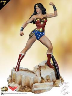 Pre-order de  Wonder Woman Super Powers Collection Maquette - Tweeterhead