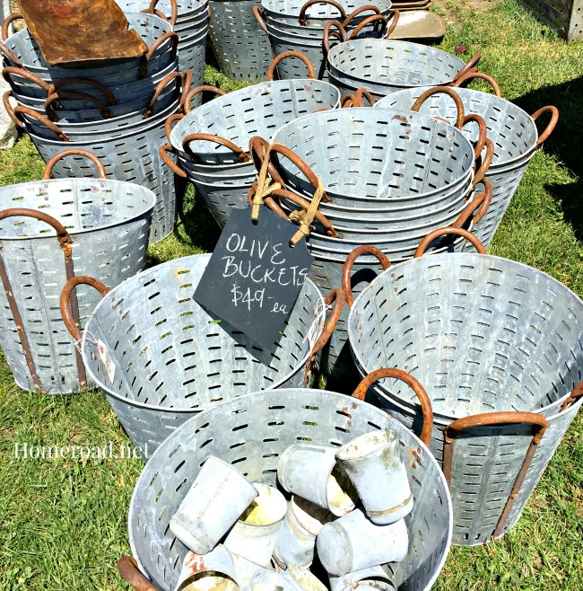 Treasures from the many vendors at the Country Living Fair in Rhinebeck, NY