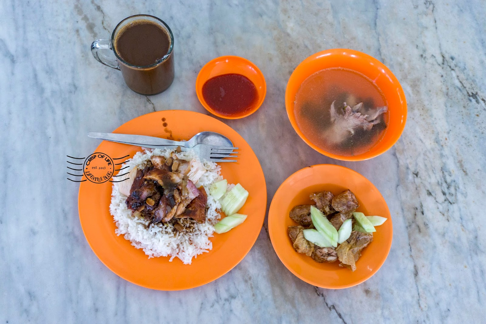 Sim Roasted Duck Rice @ Noordin Street, Georgetown, Penang