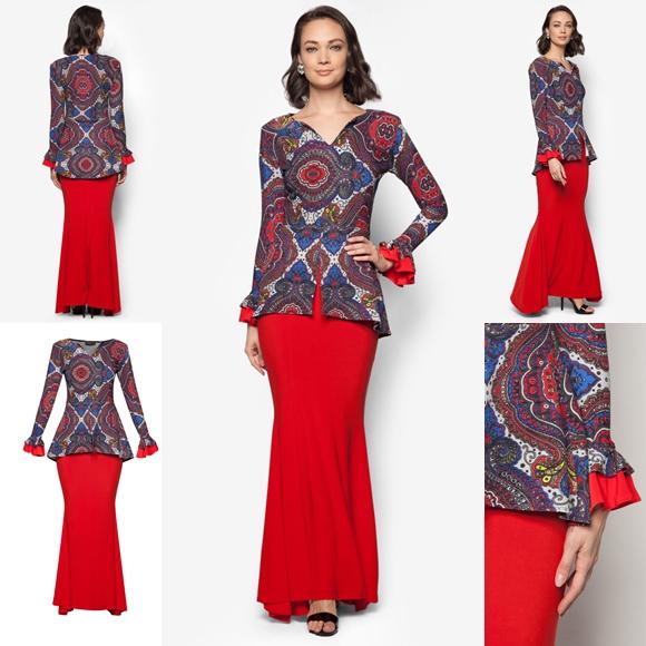 Baju Kurung Moden Terkini Baju Hari Raya 2016