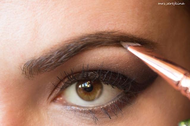 Universal evening make-up: step 14