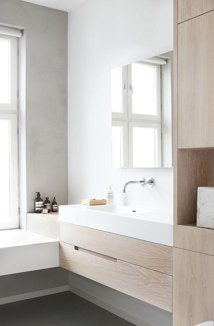 Marble Effect Kitchen Floor Tiles