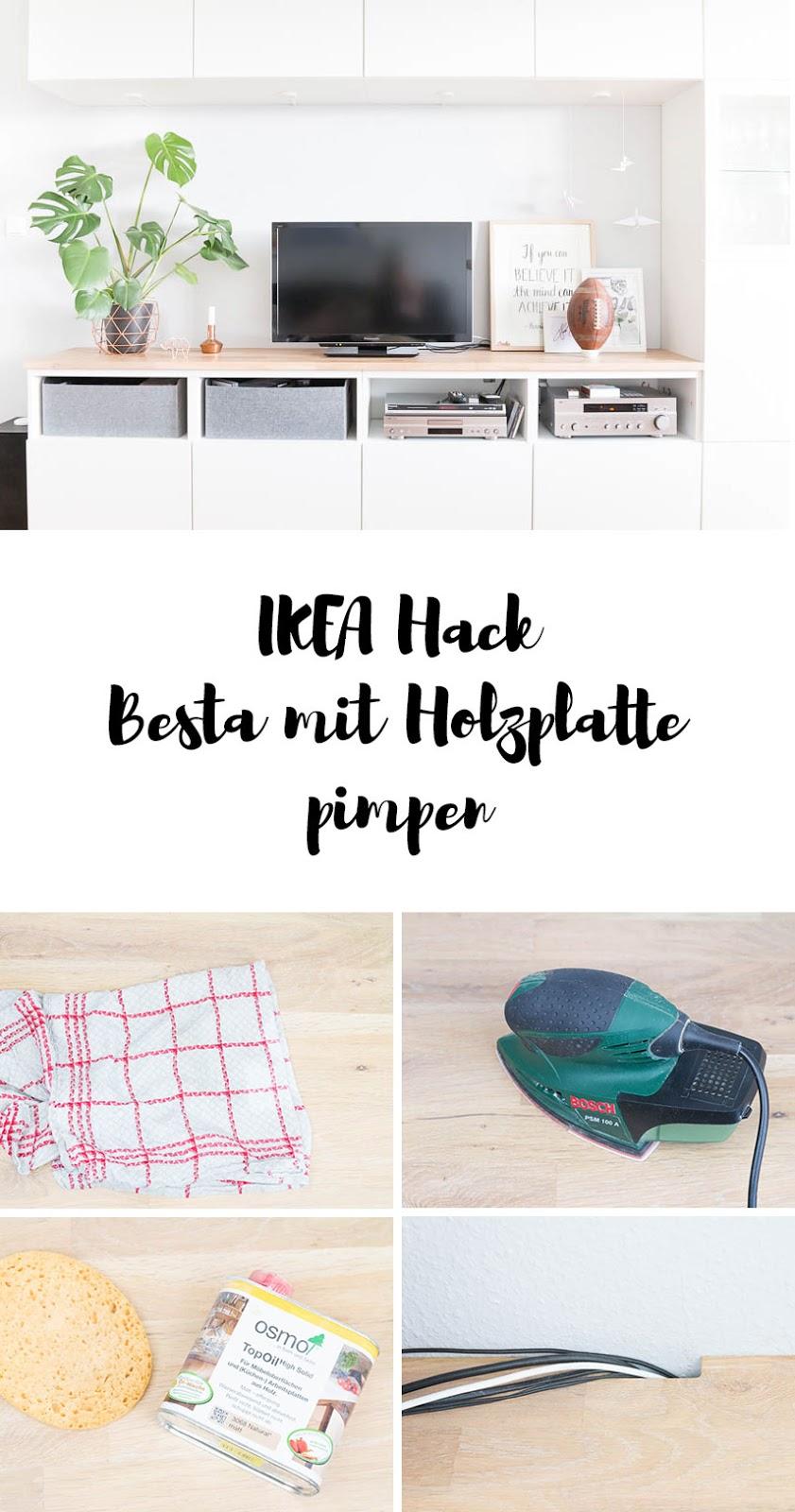 Ikea Esstisch Weiss Hochglanz ~ Ikea Hack  So einfach machst du aus deinem Besta ein Designerstück