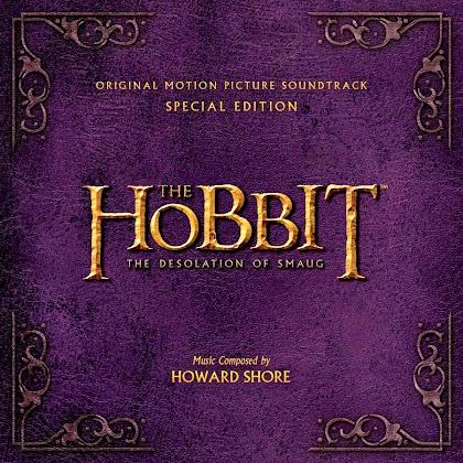 Coperta oficială pentru coloana sonoră The Hobbit: The Desolation Of Smaug