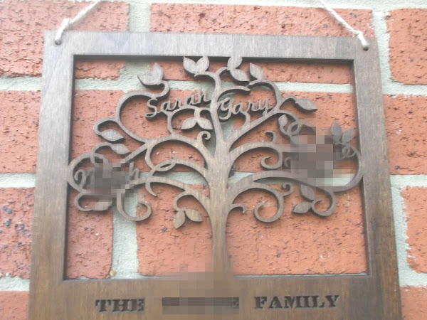 Wooden Family Tree {Review}