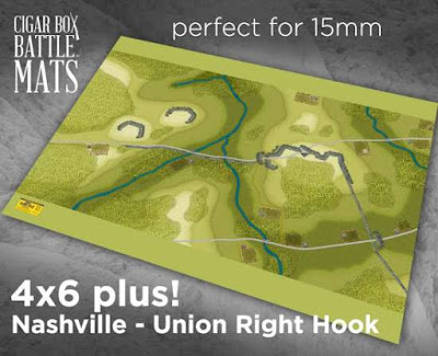 The Battle of Nashville – A Union Right Hook – ADF – 4X6 Plus #222