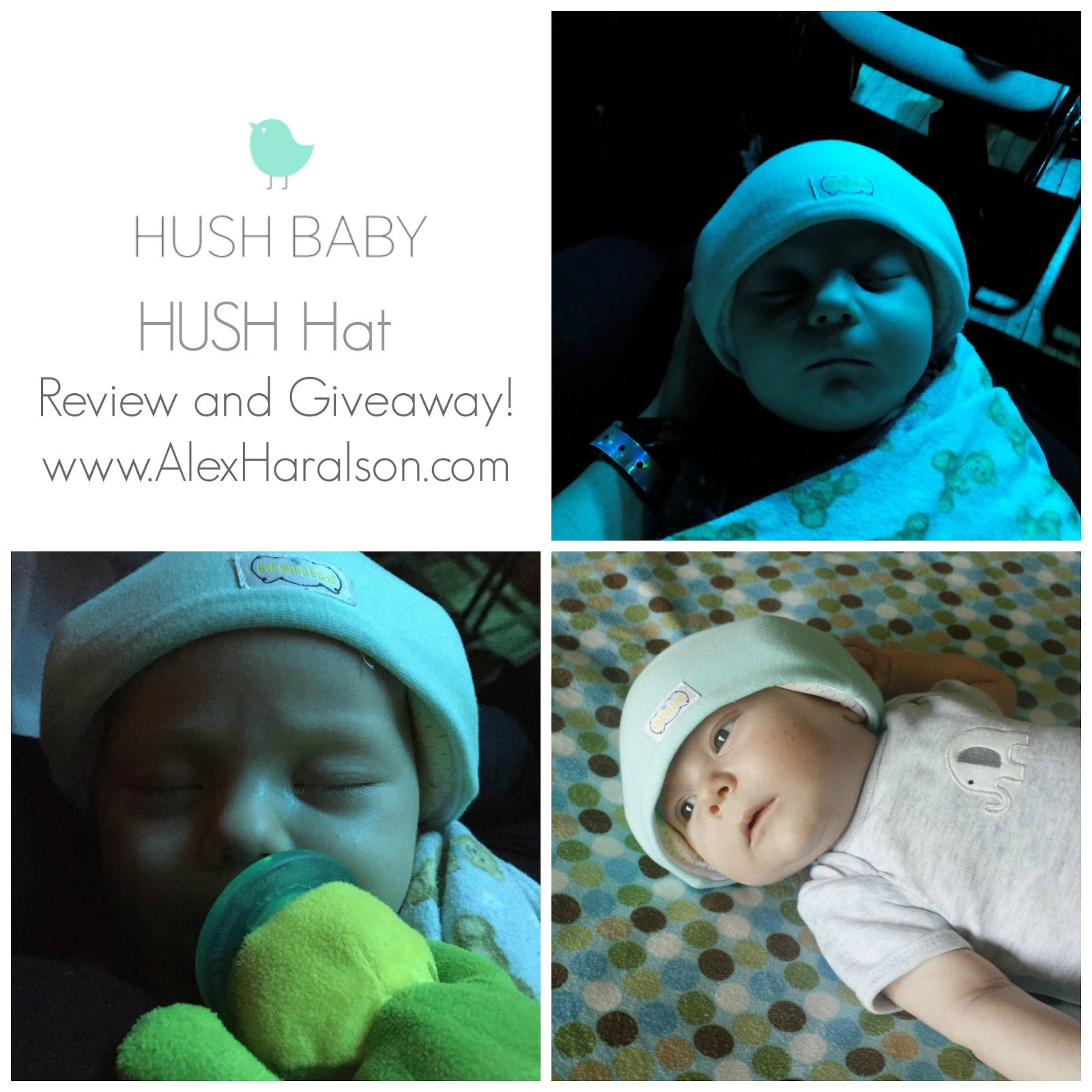 Alex Haralson  HUSH Baby HUSH Hat Review and Giveway afe0d50cd00
