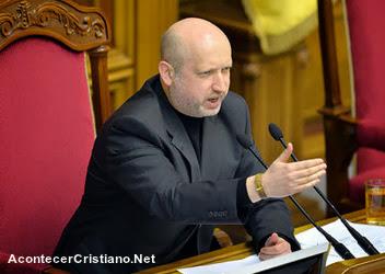 Pastor es el nuevo Presidente de Ucrania