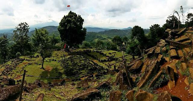 foto situs gunung padang