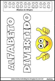 Alfabeto emoji letra cursiva