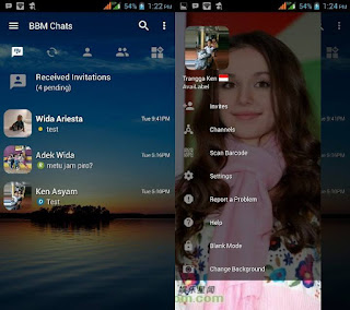 BBM Mod Transparant Change Background for Spec Minim v3.2.5.12 Apk