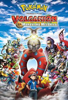 Pokémon O Filme: Volcanion e a Maravilha Mecânica - BDRip Dual Áudio