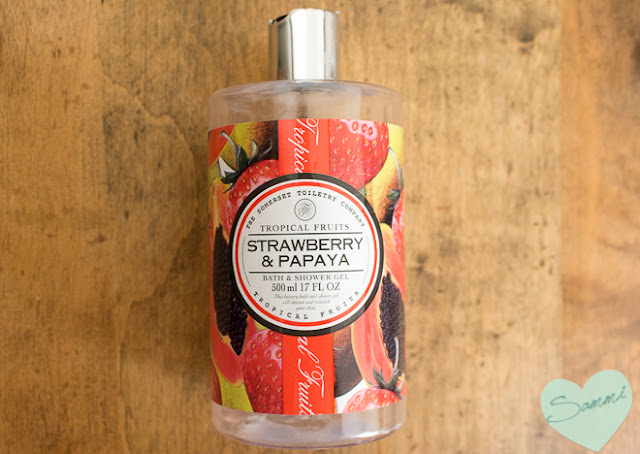 THE SOMERSET TOILETRY COMPANY | Strawberry and Papaya Bath & Shower Gel ($5 | 16oz)