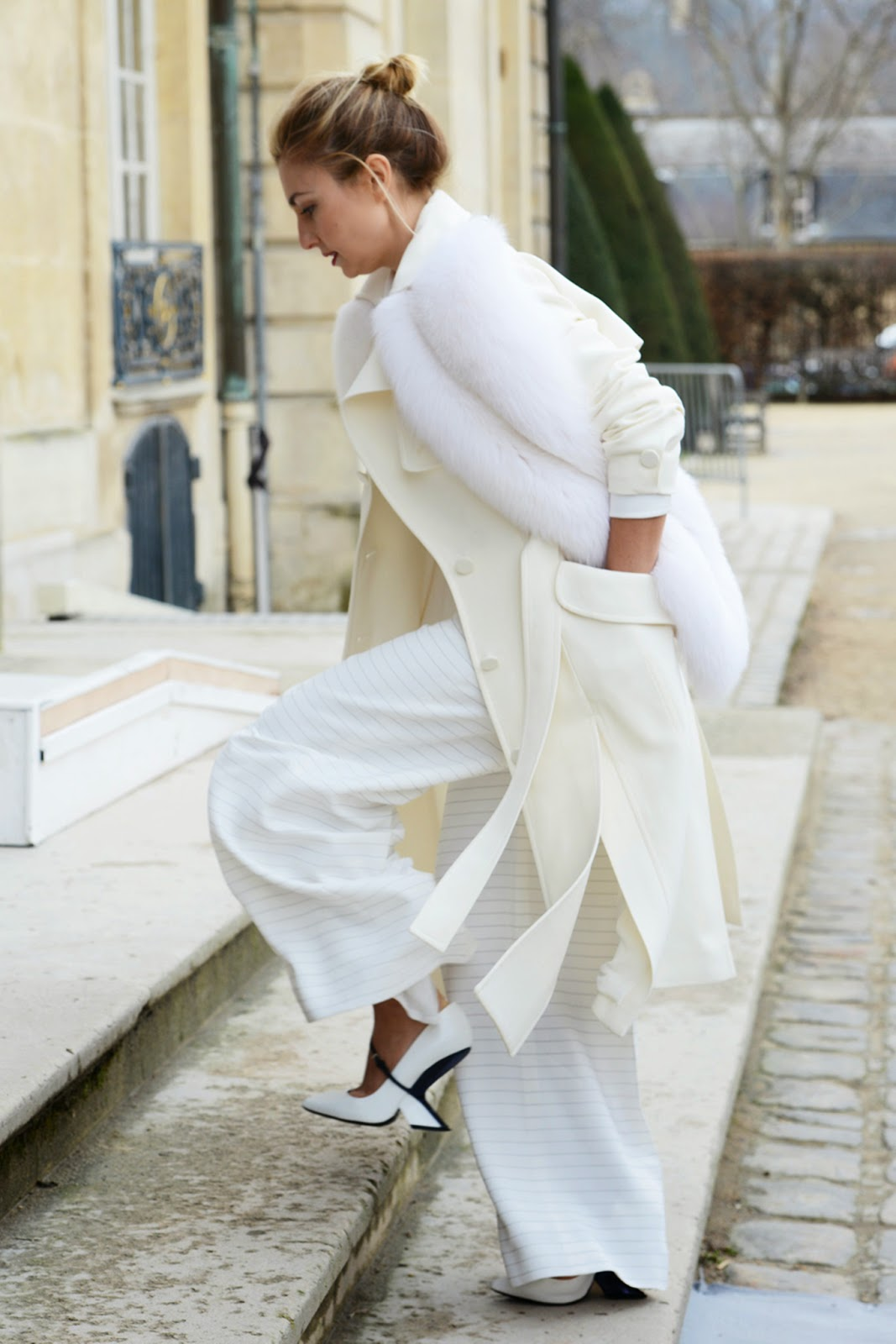 Street Style | Style Hunter: Winter White | Cool Chic ...