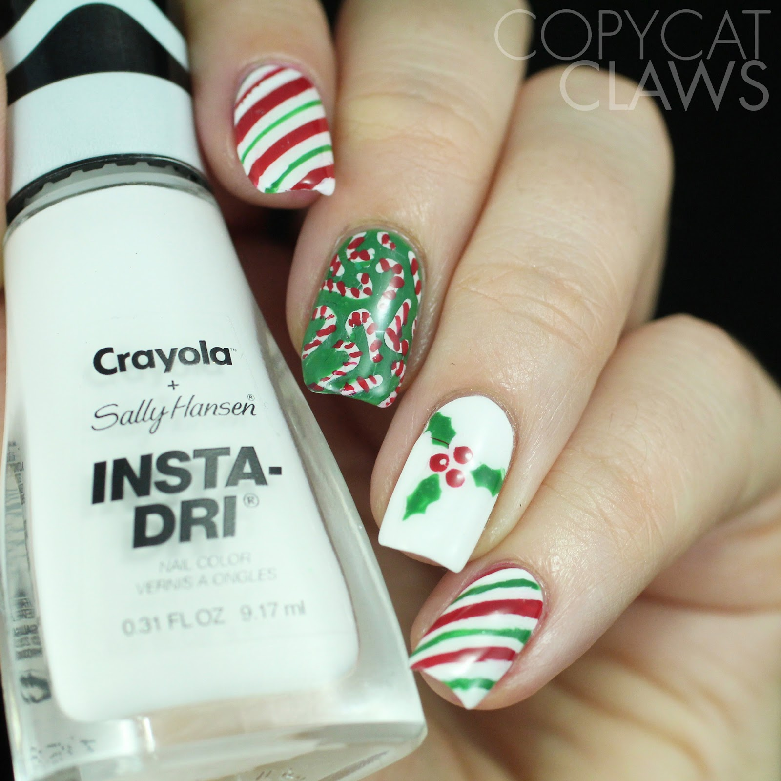 Copycat Claws: Whats Up Nails Winter & Christmas Nail Stencils