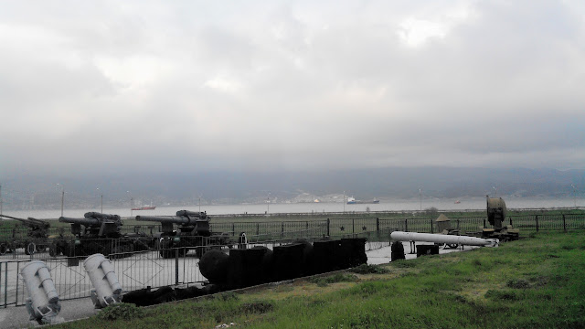 Новороссийск, Малая земля - мемориал, музей военной техники