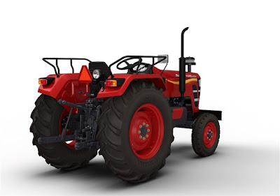 Mahindra YUVO Tractor rear hd image