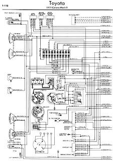 toyota corona wiring diagram manual