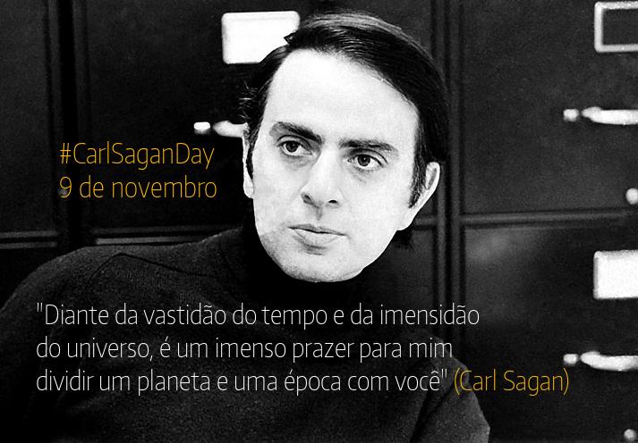 Com ou sem Doodle hoje é o Carl Sagan Day