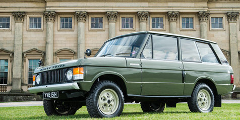 Klasik, Sang 'Sesepuh' Range Rover #001 Bakal Dilelang!