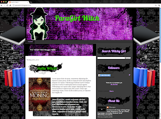 Witch Blogger Template