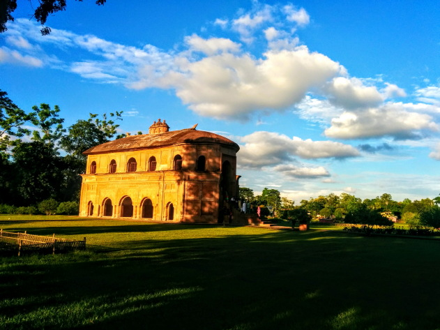 Rang Ghar - Asia's first amphitheatre at Sibsagar, India