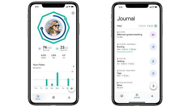 إطلاق تطبيق Google Fit للصحة والنشاط على نظام التشغيل iOS