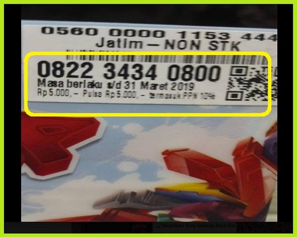 Nomor Cantik 0822 Dari Telkomsel Simpati Loop