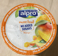 Alpro More Fruit No Added Sugar Mango Yogurt