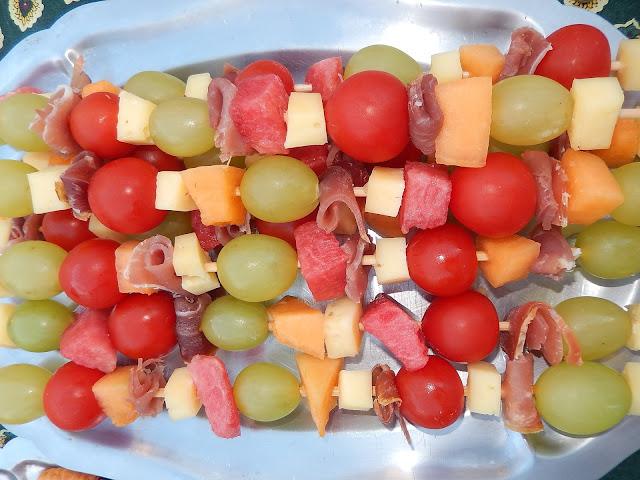 brochettes fruits fromage idées repas boîte à lunch enfants