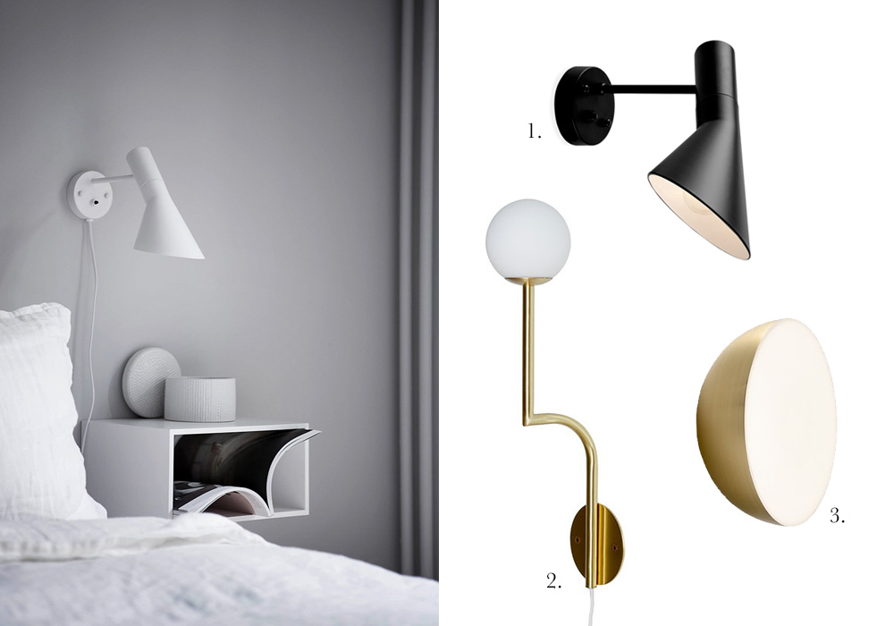 Amm Blog 6 Wall Lamps For Your Bedside
