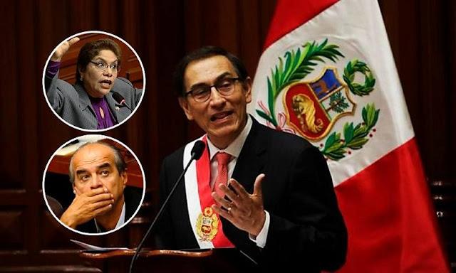 Martín Vizcarra anuncia que sumará a referéndum la reelección de congresistas