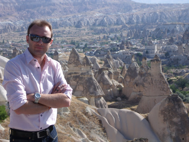 En Capadocia, Turquia