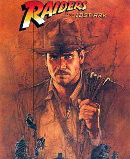 Cartel original de la película En busca del arca perdida -Raiders of the Lost Ark- de Spielber y George Lucas