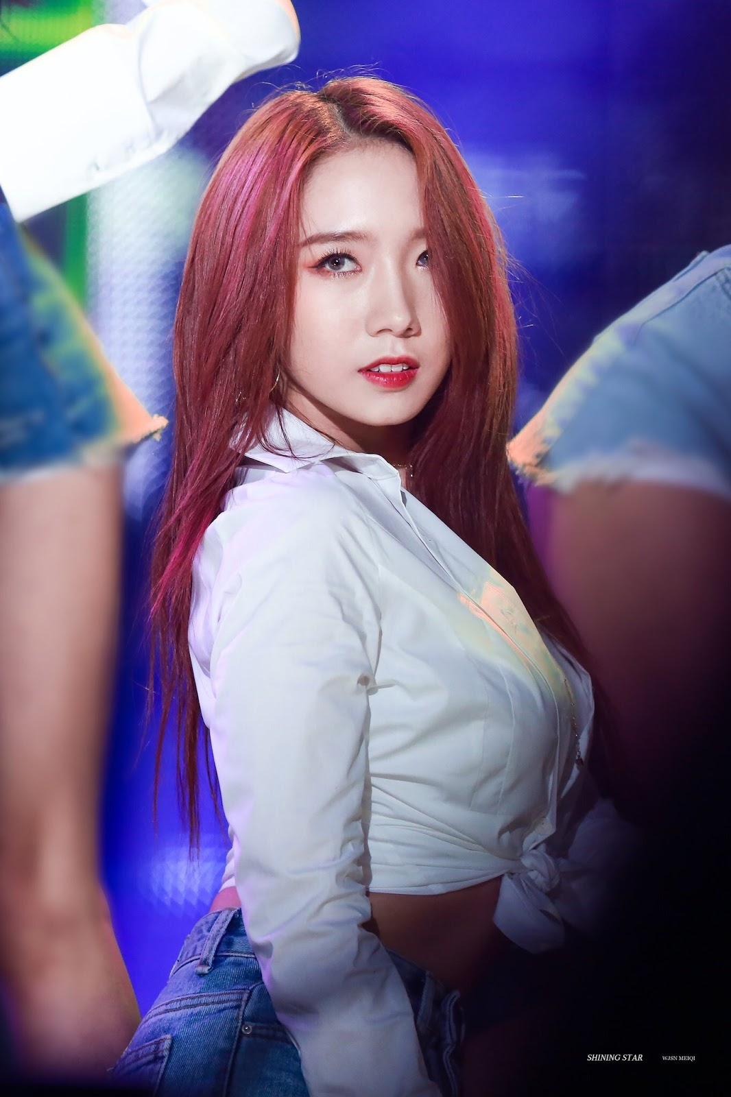 This Wjsn Member Looks Absolutely Hot With Red Hair