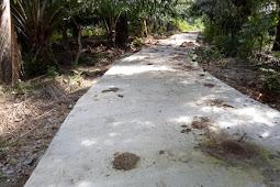 Dana Desa Pendorong Kemajuan Infrastruktur Desa Durian Besar.