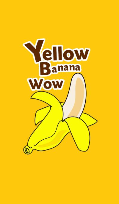 Yellow Banana Wow