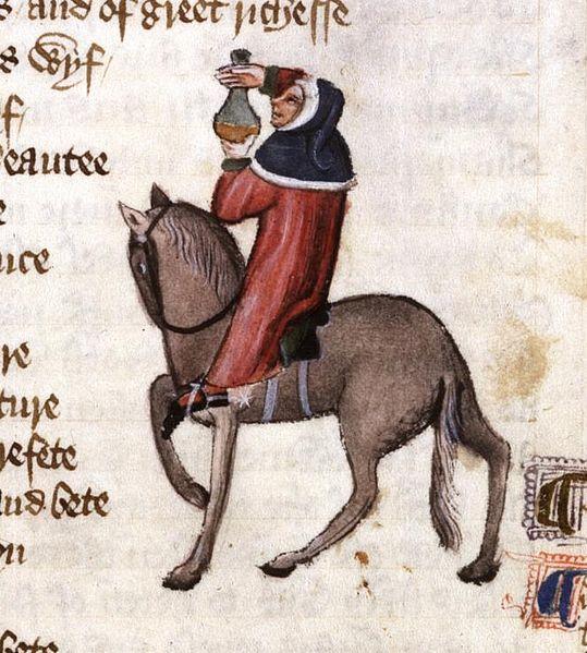 monk canterbury tales summary