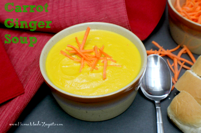 Carrot, Ginger Soup