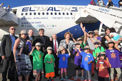 Israel recebe grande número de imigrantes dos Estados Unidos e da França