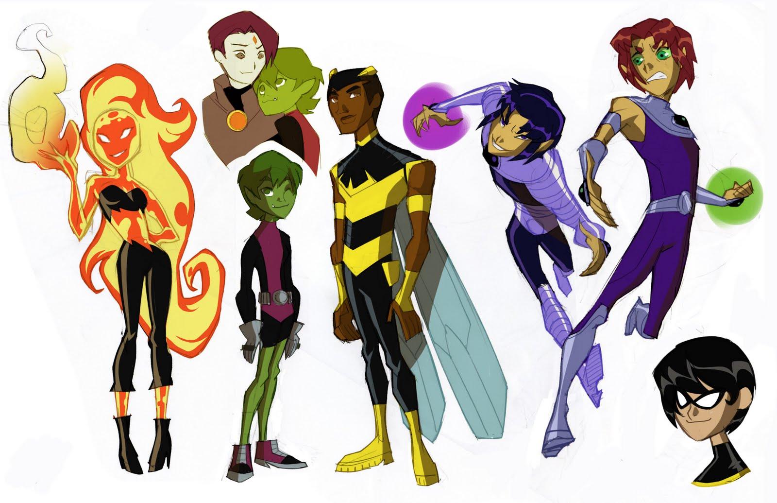 Dou Hong 59 Teen Titans Gender Bender Part 2-4133
