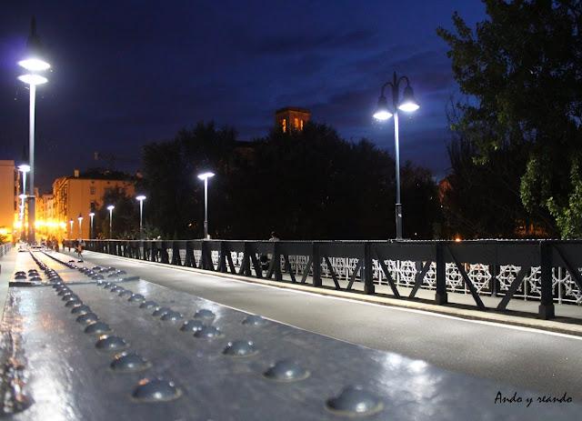 Puente de Hierro, Logroño