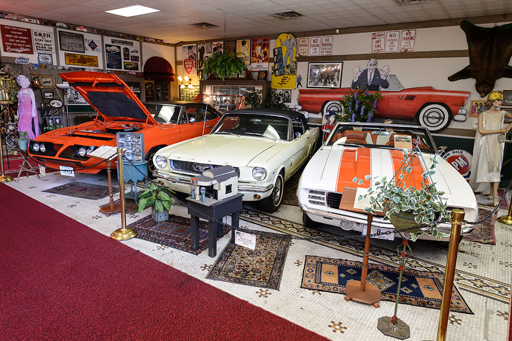 Muscle cars at the Canton Classic Car Museum