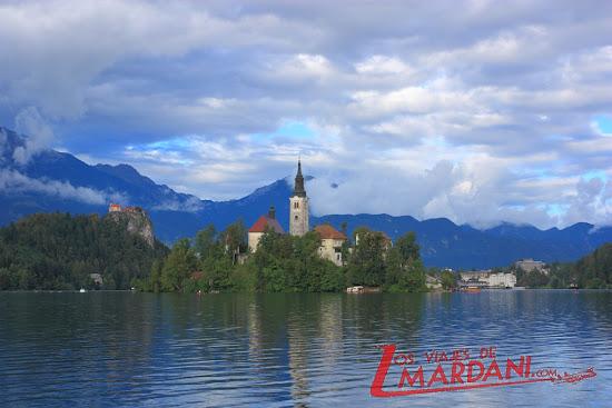 el lago Bled y su isla