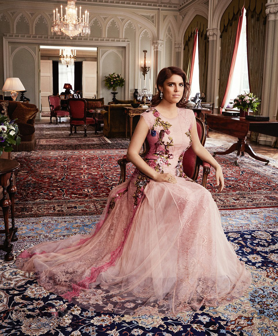 Royal Family Around The World Princess Eugenie Details