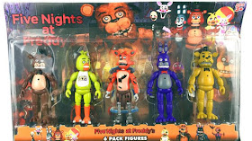 Set de 5 figuras de five night at freddy por solo 10.000