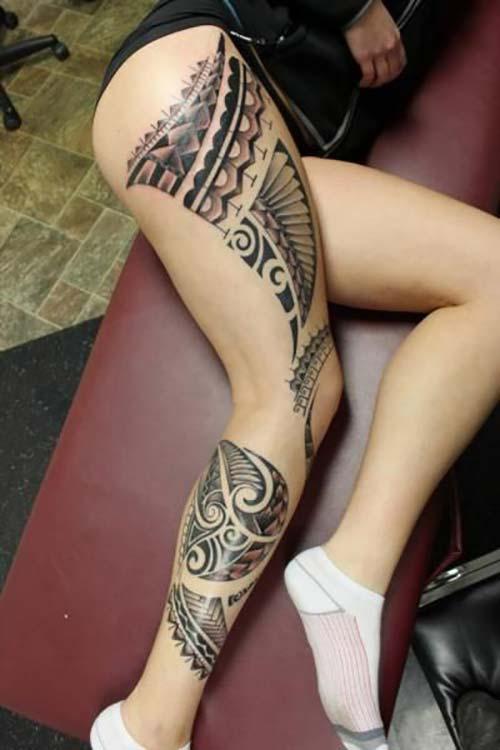 kadın maori tribal dövmeleri woman maori tribal tattoos 19