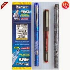 Shopclues Jaw Dropping Deal: Rotomac 3G Refillable Roller Pen Pack of 3 worth Rs.125 for Rs.68 (Including Shipping Charges)